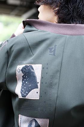 DEVOA 19-20AW Military Blouson Style