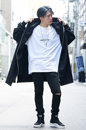 NIL DUE / NIL UN TOKYO 19AW ICON HOODIE styling!!