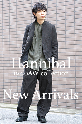 hannibal. 19-20AW Collection New Arrivals