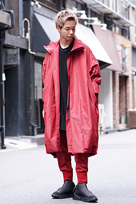 NILøS 19AW OVERTUCK RED SET UP STYLE!!