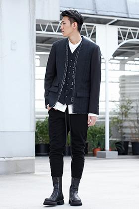 .LOGY kyoto 19-20AW The Viridi-anne Random Stripe Jacket STYLE!!