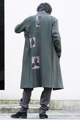 DEVOA 19-20AW 4 Way Stretch Wool Trench Coat