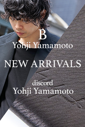 discord and B Yohji Yamamoto 19-20AW New delivery