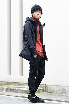 DEVOA 19-20AW Military × Sports Mix Style