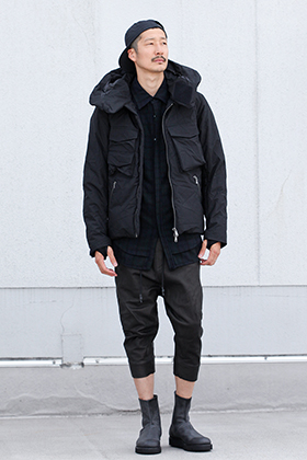 .LOGY kyoto The Viridi-anne [ 3layer Wrinkled Down Jacket  ] Style!!!