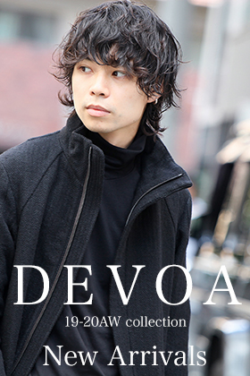 DEVOA 19-20AW 6th Delivery New Arrivals