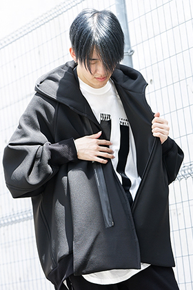 NILøS 19-20AW OVERTUCK HOODED JACKET Styling!!