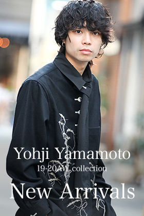 Yohji Yamamoto 19-20AW collection New Arrivals!!