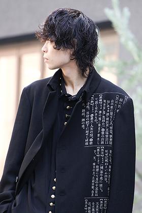 Yohji Yamamamoto 19-20AW Gold Button Accent Style