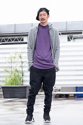 .LOGY kyoto RIPVANWINKLE【 CROSS NECK HOODY 】STYLING!!!