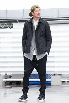 .LOGY kyoto 19AW RIPVANWINKLE【 FLIGHT JACKET 】CROSS JERSEY STYLING!!!