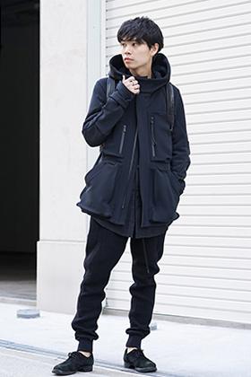 DEVOA 19-20AW Cork Shell 4way Stretch Hood Jacket Style