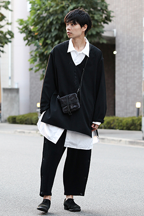 Yohji Yamamoto Replica Tunic Style