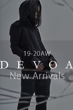 DEVOA 19-20AW Winter Items New Arrivals
