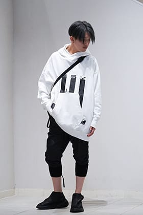 NILøS 19 Fall Winter Collection White Hoodie Styling!!