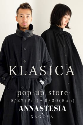 KLSICA Pop-up Store at ANNASTESIA Nagoya!