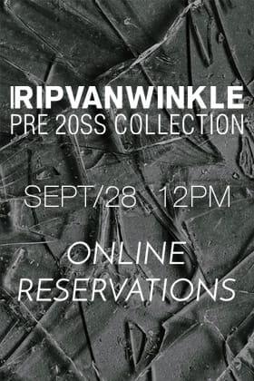 RIPVANWINKLE Reservation Release Date Notice