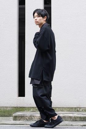 Yohji Yamamoto 19-20AW Wore Tops Over Shirts Style