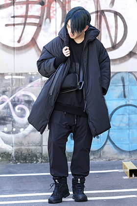 NILØS & 11byBBS 19aw collection Black sporty mode Styling!!