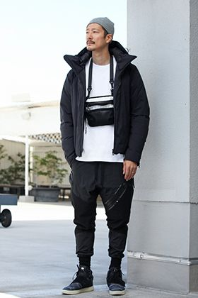 .LOGY kyoto 19AW ATTACHMENT【 DOWN BLOUSON 】MONO TONE STYLING!!!