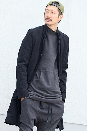 .LOGY kyoto 19AW WJK【 EX. HEAVY JERSEY WORK COAT 】STYLING!!!