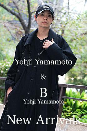 Yohji Yamamoto and B YY 19-20AW New Arrivals