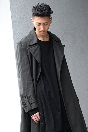 .LOGY kyoto 19-20AW Ground Y【Double coat】 STYLE!!