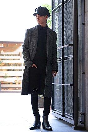 GalaabenD & JOHN LAWRENCE SULLIVAN 19AW Cheetah coat styling!!