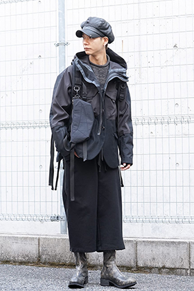 The Viridi-anne 19aw Dark Color Multi detail Styling!!