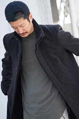 .LOGY kyoto 19AW RIPVANWINKLE [ CHESTER COAT ] STYLING!!!