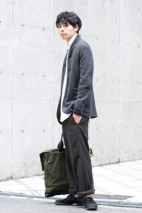 hannibal 19-20AW Autumn Knit Jacket Style