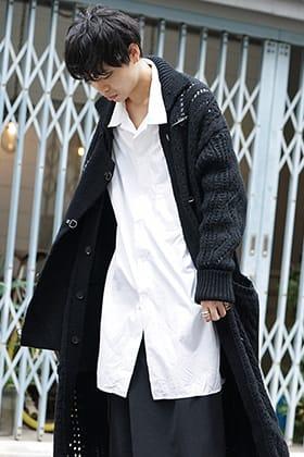 Yohji Yamamoto 19-20AW Over Knit Coat Style