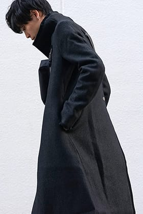 BBS 19-20AW High Neck Coat Style