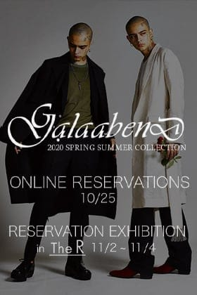 GalaabenD 20SS Online Reservation and Reservation Exhibition Announcement