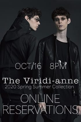 The Viridi-anne 2020 SS collection Online Reservations starting 16th of October at 8pm!