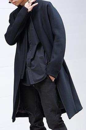 D.HYGEN 19-20AW Antwerp melton High neck coat Style