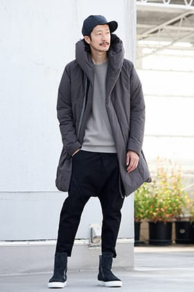 .LOGY kyoto 19AW ATTACHMENT【 HOODED DOWN COAT 】STYLING!!!