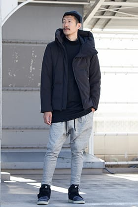 .LOGY kyoto The Viridi-anne 【 FAS-GROUP Limited Down Jacket 】Styling!!!