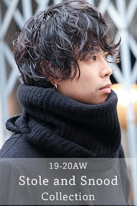 19-20AW Snood and Stole Collection