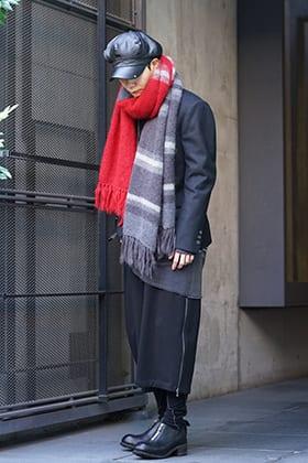 nude:masahiko maruyama × The Viridi-anne Autumn Winter Flannel Jacket Styling !!