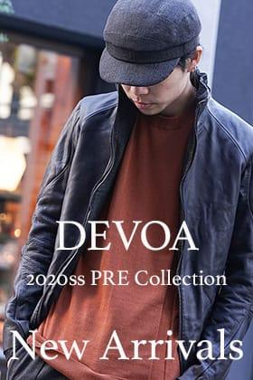 DEVOA 2020SS PRE COLLECTION NEWARRIVALS