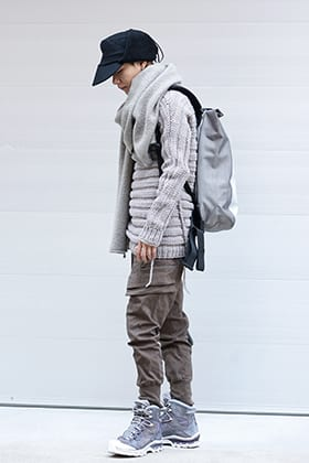 2019-20AW Earth color x Active Mix Styling
