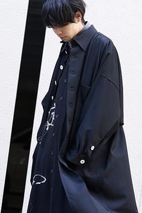 Yohji Yamamoto 19-20AW Shirt Layered Style