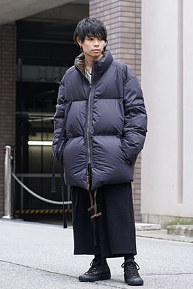ZIGGY CHEN Over Sized Down Jacket Style