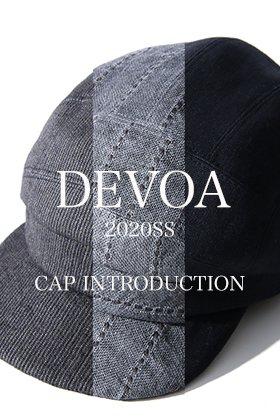 DEVOA 20SS Cap Introduction