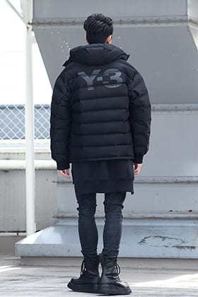 .LOGY kyoto 19-20AW  Y-3【Seamless down Hooded jacket】 STYLE!!
