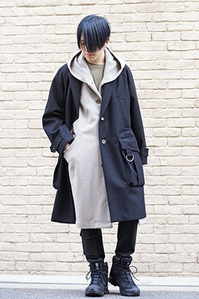 DBSS & 11byBBS 19aw mulchdocking coat Styling !!