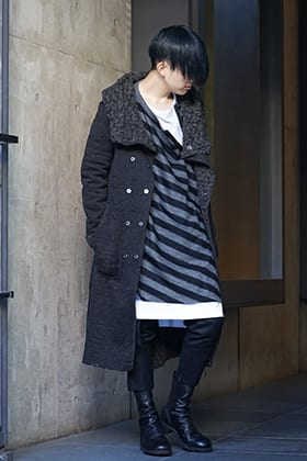 NUDE:MM × Ground Y × TVA 19aw layered Styling !!