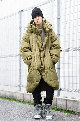 HAMCUS & 11 by BBS & The Viridi-anne 19aw khaki downcoat Styling !!
