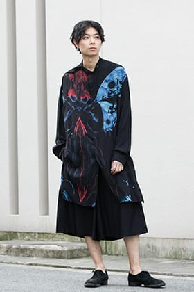 Yohji Yamamoto 20SS Brightly Colored Spring Style